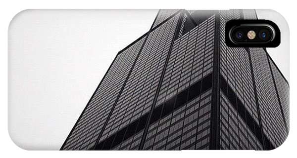 City iPhone Case - Sears Tower by Mike Maher