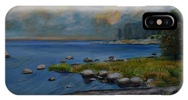 Seascape From Hamina 2 IPhone Case