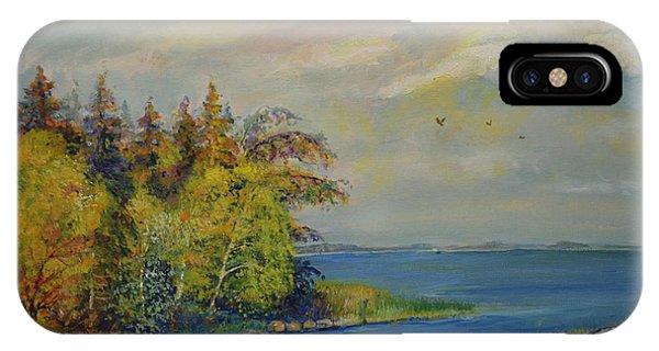 Seascape From Hamina 3 IPhone Case