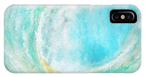 Seascapes Abstract Art - Mesmerized IPhone Case