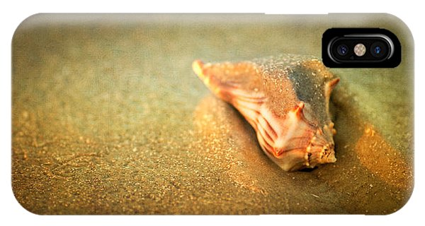 IPhone Case featuring the photograph Seashell by Joye Ardyn Durham