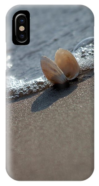 Seashell On The Coast With Wave IPhone Case