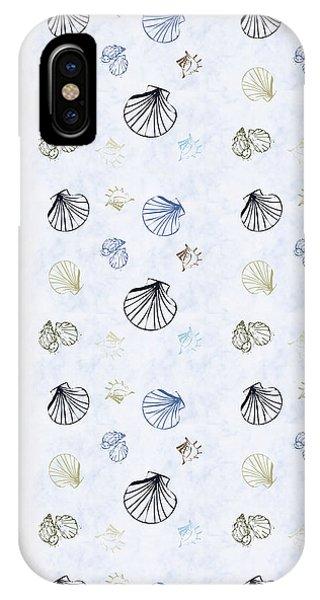 Seashell Pattern IPhone Case
