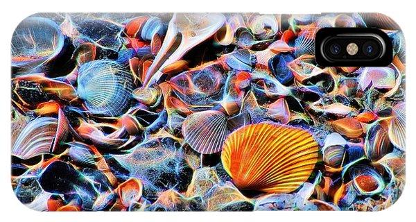 Seashells At The Seashore IPhone Case