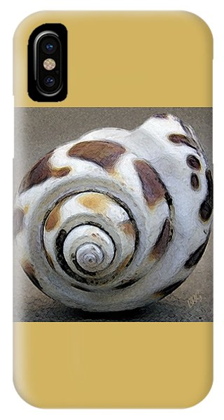 Shell Texture iPhone Case - Seashells Spectacular No 2 by Ben and Raisa Gertsberg