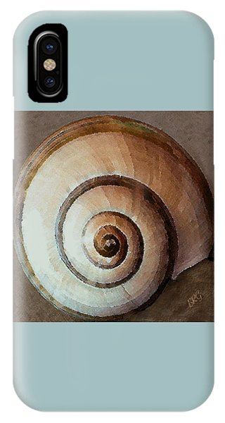 IPhone Case featuring the photograph Seashells Spectacular No 34 by Ben and Raisa Gertsberg
