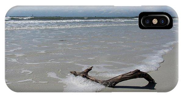 Seashore Driftwood Phone Case by Rosie Brown