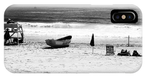 Seaside Beach Days Phone Case by John Rizzuto