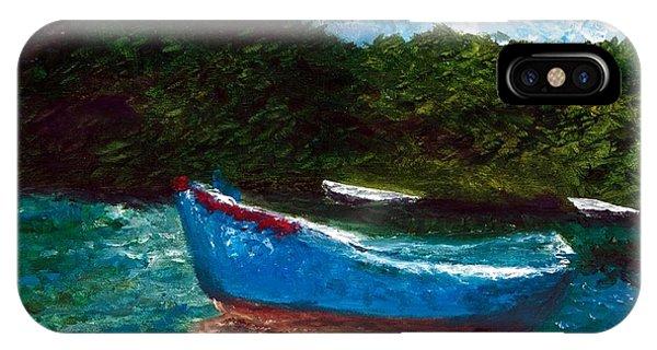 Seaside Blue Boy II IPhone Case