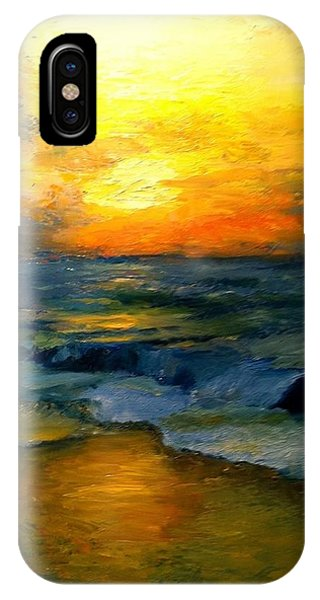 Seaside Sunset IPhone Case