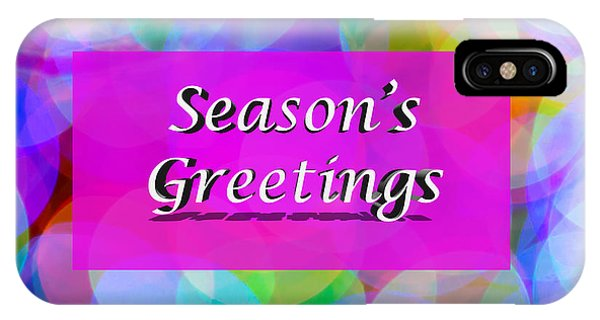 Seasons Greetings IPhone Case