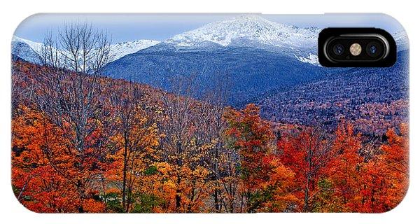 Seasons' Shift #2 - Mount Washington - White Mountains IPhone Case