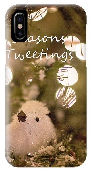 Seasons Tweetings IPhone Case