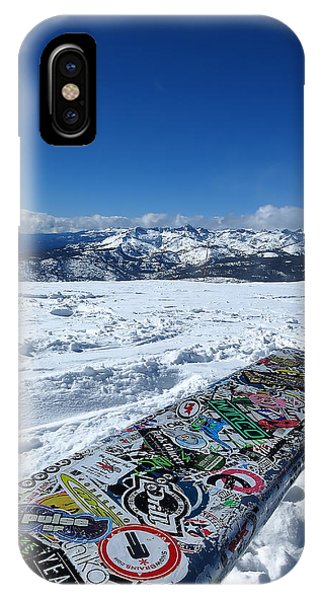 Seat At The Top Of The World IPhone Case