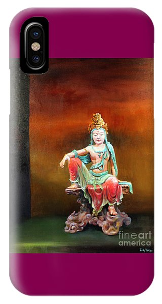 Seated Kuan Yin IPhone Case