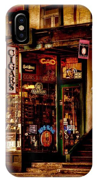 Seattle Cigar Shop IPhone Case