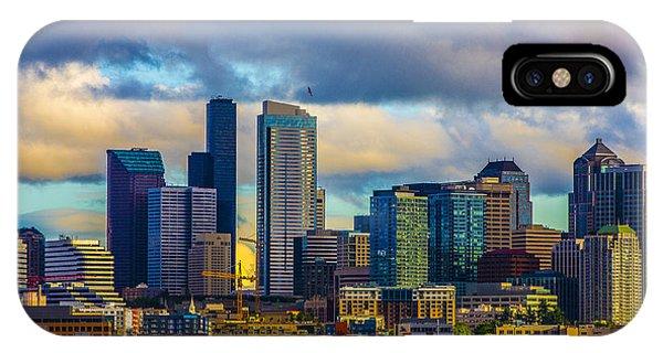 Seattle Cityscape IPhone Case