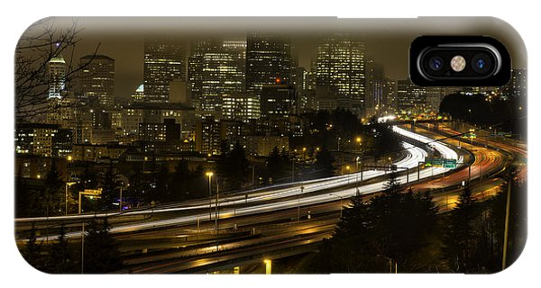 Seattle From Jose Rizal Park IPhone Case