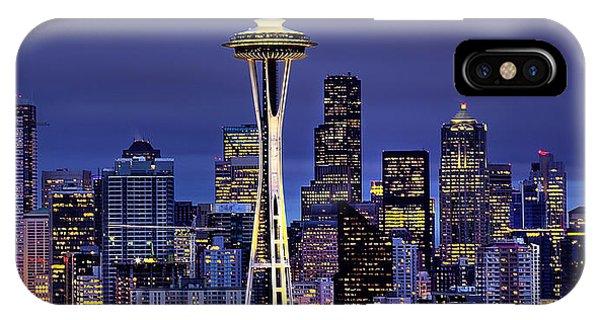 Seattle Skies IPhone Case