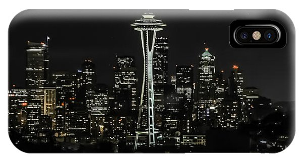 Seattle Skyline From Kerry Park Phone Case by CarolLMiller Photography