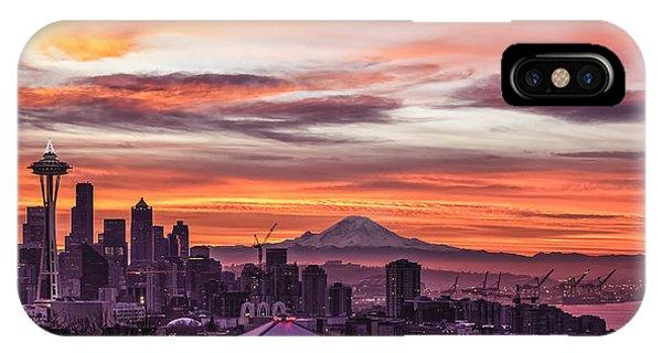 Seattle Sunrise IPhone Case