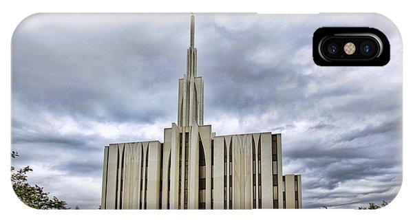 Seattle Temple IPhone Case