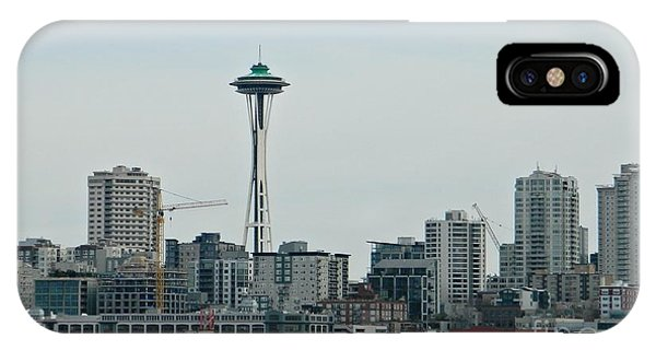 Seattle Washington IPhone Case