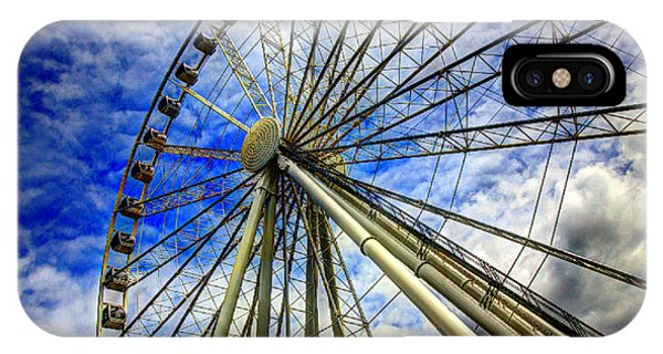 Seattle's Great Wheel IPhone Case