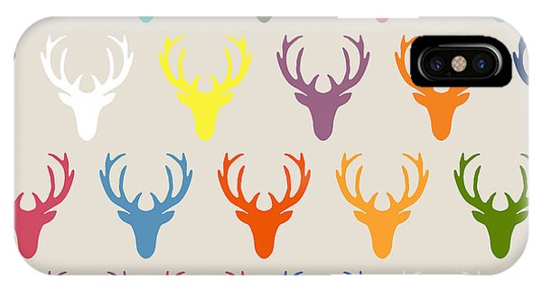 Seaview Simple Deer Heads IPhone Case