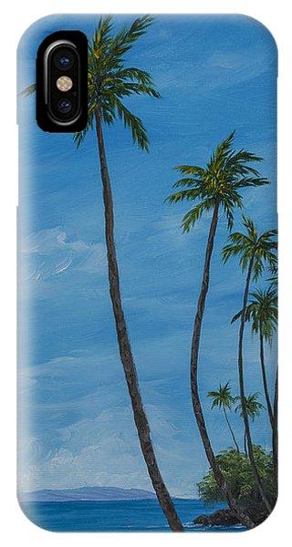 Seawall Palms IPhone Case