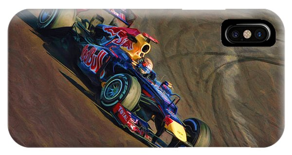 Sebastian Vettel - Red Bull IPhone Case