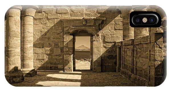 Temple Of Maharraqa IPhone Case