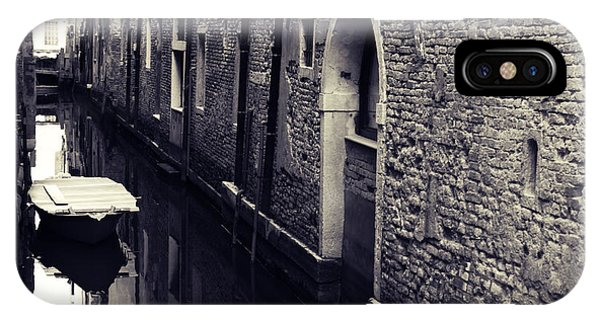 Secluded Canal In Venice Phone Case by Ernst Cerjak