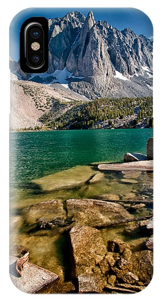 Sierra Nevada iPhone Case - Second Lake And Temple Crag by Cat Connor