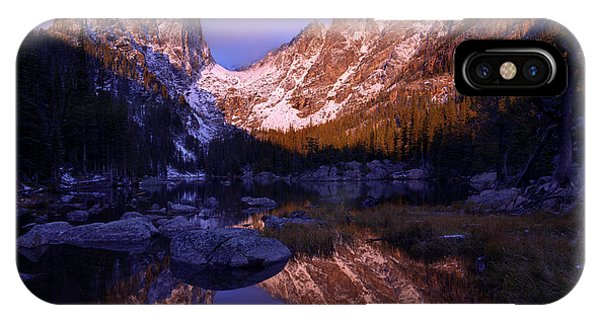 Rocky iPhone Case - Second Light by Chad Dutson