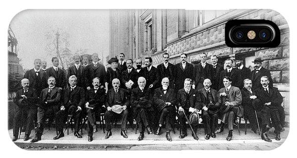 Second Solvay Congress IPhone Case