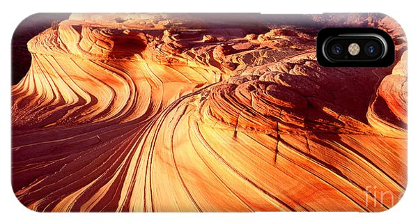Second Wave In The North Coyote Buttes IPhone Case