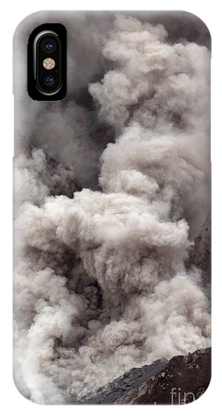 Pyroclastic Flow iPhone Case - Secondary Pyroclastic Flow by Stephen & Donna O'Meara
