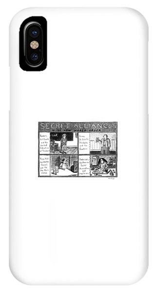 Secret Alliances Of The New World Order IPhone Case