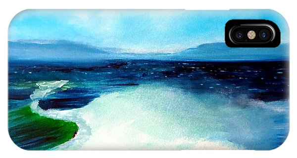 Secret Beach Surf Art IPhone Case