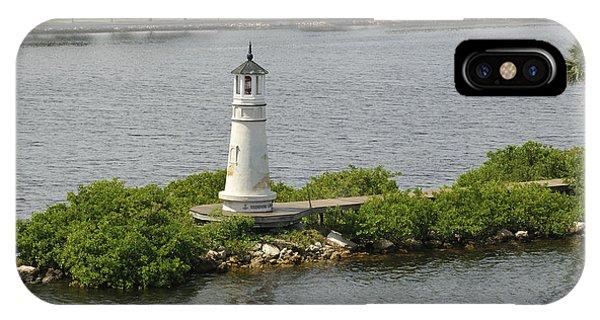 Seddon Light At Harbour Island IPhone Case
