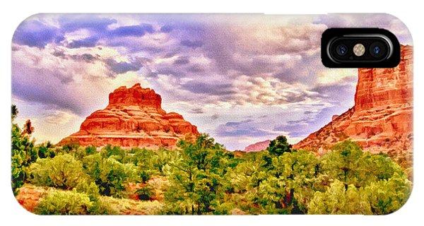 Sedona Arizona Bell Rock Vortex IPhone Case