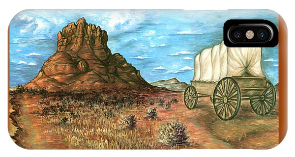 Sedona Arizona - Western Art Painting IPhone Case