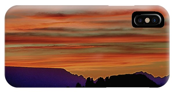 Sedona Az Sunset 2 IPhone Case