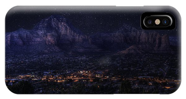 Sedona By Night IPhone Case