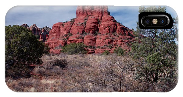 Sedona Red Rock Formations IPhone Case
