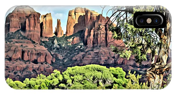Sedona Scene IPhone Case