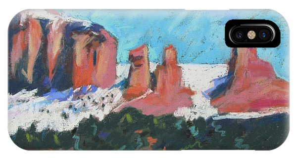 Sedona Snowfall IPhone Case