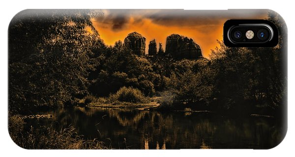 Sedona Sundown ... IPhone Case
