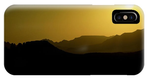 Sedona Sunset Phone Case by Christian Capucci